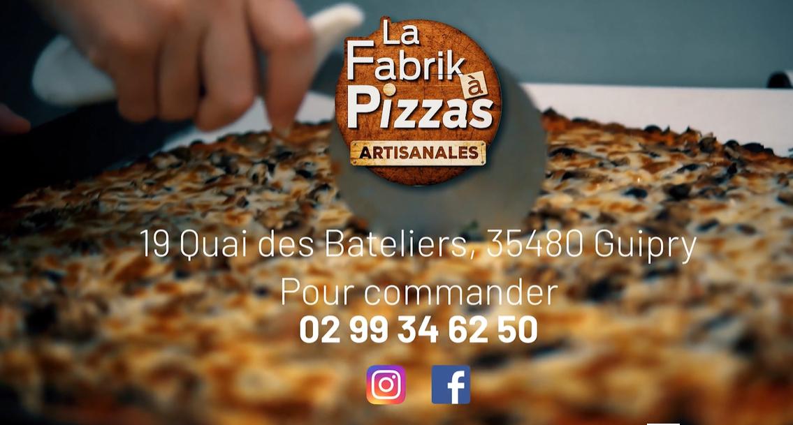 PIZZA A EMPORTER GUIPRY MESSAC LA FABRIK A PIZZAS